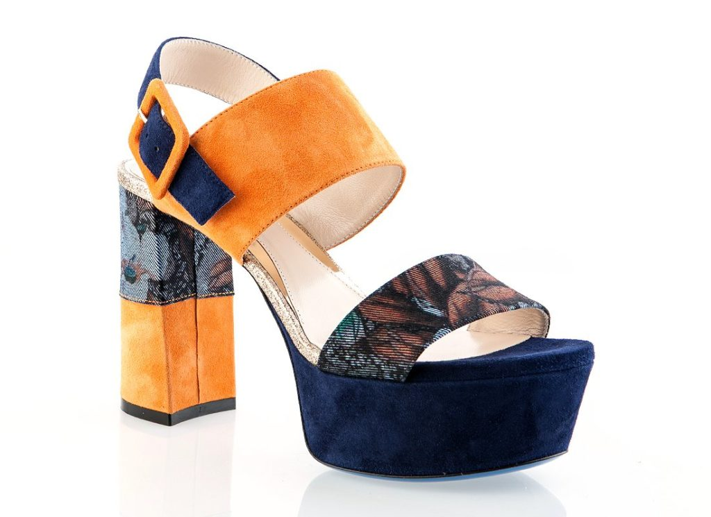 Loriblu 6353 Jeans Italian Designer High Heel Sandals